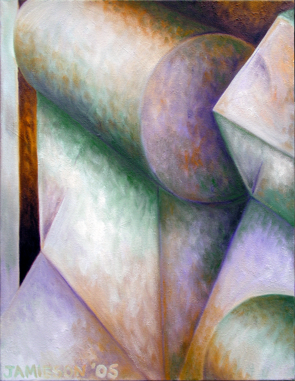 "Resonance November 2005 oil on canvas 24"" x 18"""