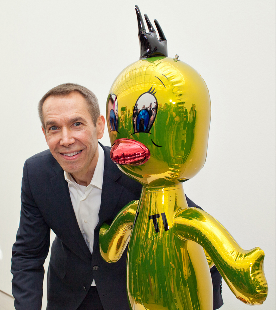 Titi, 2004–09, Jeff Koons, High chromium stainless steel with transparent color coating.