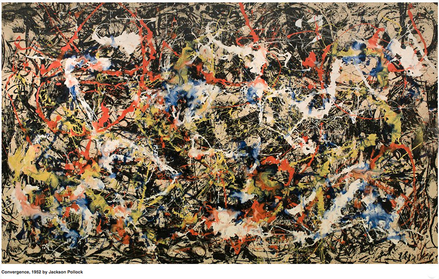 Convergence, 1952, Jackson Pollock